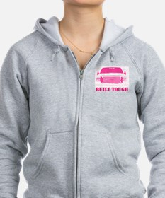 Pink Built Tough Zip Hoodie