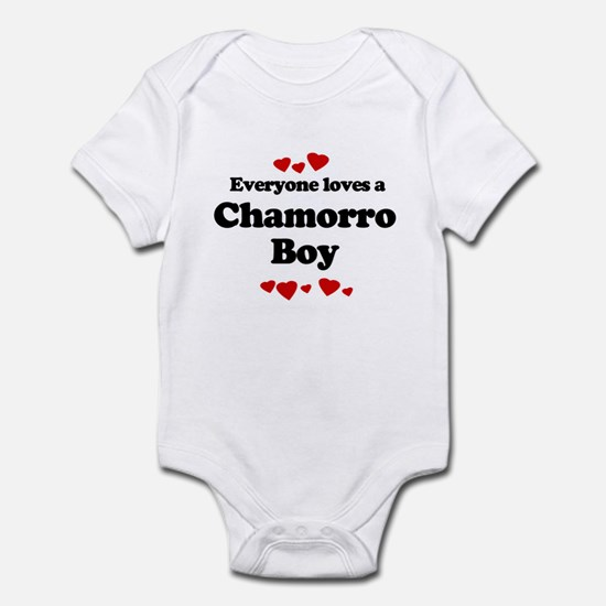 Everyone loves a Chamorro Infant Bodysuit