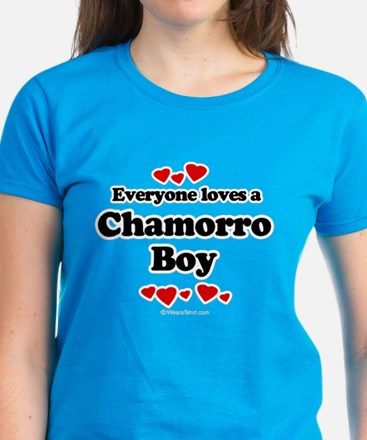Everyone loves a Chamorro Women's Dark T-Shirt