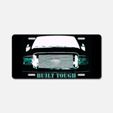 Built Tough Aluminum License Plate