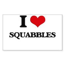 I love Squabbles Decal