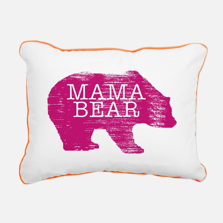 MaMa Bear Rectangular Canvas Pillow