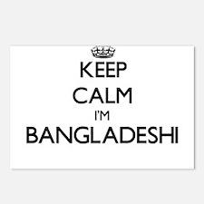 Keep Calm I'm Bangladeshi Postcards (Package of 8)