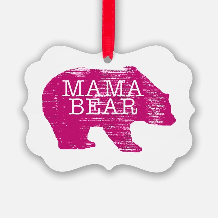 MaMa Bear Ornament