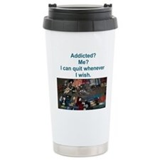 Funny Needles crochet yarn Travel Mug