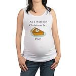 Christmas Pie Maternity Tank Top
