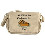 Christmas Pie Messenger Bag