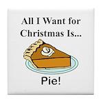 Christmas Pie Tile Coaster