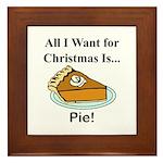 Christmas Pie Framed Tile