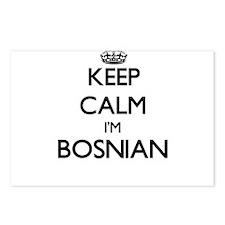 Keep Calm I'm Bosnian Postcards (Package of 8)