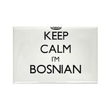 Keep Calm I'm Bosnian Magnets