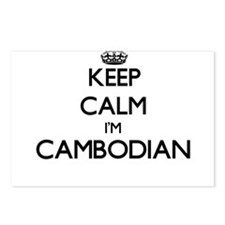 Keep Calm I'm Cambodian Postcards (Package of 8)