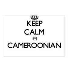 Keep Calm I'm Cameroonian Postcards (Package of 8)