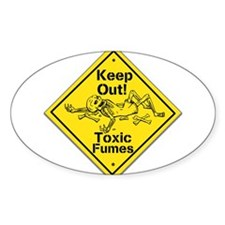 Toxic Fumes Decal