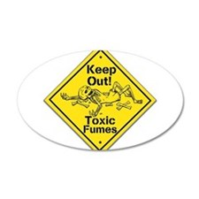 Toxic Fumes Wall Decal