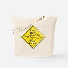 Toxic Fumes Tote Bag