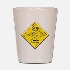 Toxic Fumes Shot Glass