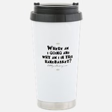 Unique Why am i covered feathers Travel Mug