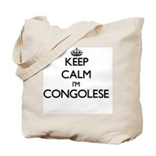 Keep Calm I'm Congolese Tote Bag