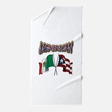 Mexirican_FF Beach Towel