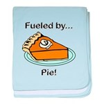 Fueled by Pie baby blanket