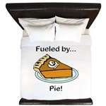 Fueled by Pie King Duvet