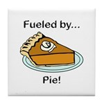 Fueled by Pie Tile Coaster