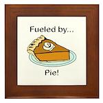 Fueled by Pie Framed Tile