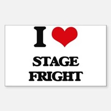 I love Stage Fright Decal