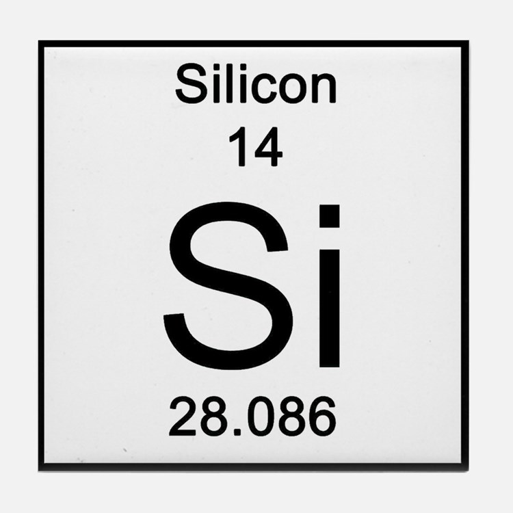 Periodic Table Silicon Coasters | Cork, Puzzle & Tile ...