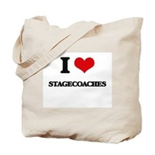 I love Stagecoaches Tote Bag