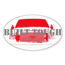 Built Tough Decal