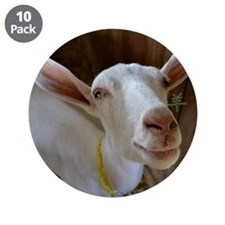 """Goat 3.5"""" Button (10 pack)"""
