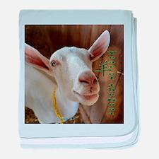 Goat baby blanket