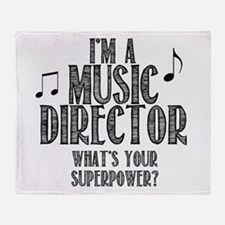 Music Director Throw Blanket