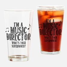 Music Director Drinking Glass