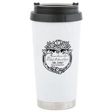 Mr Darcy Pride and Prejudice Travel Mug