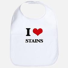 I love Stains Bib