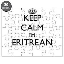 Keep Calm I'm Eritrean Puzzle
