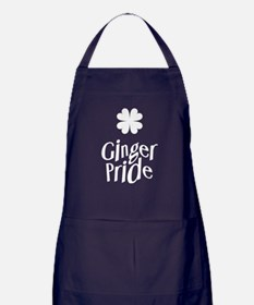 Ginger Pride - St Patricks Day Apron (dark)
