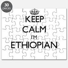 Keep Calm I'm Ethiopian Puzzle