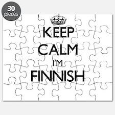 Keep Calm I'm Finnish Puzzle