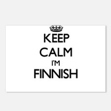 Keep Calm I'm Finnish Postcards (Package of 8)