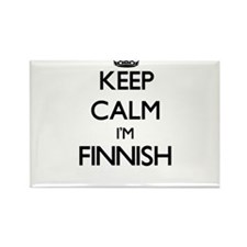 Keep Calm I'm Finnish Magnets