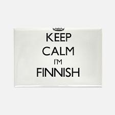 Keep Calm I'm Finnish Magnets