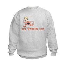 Run, Warren, Run! Sweatshirt