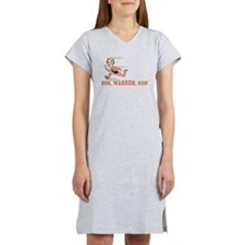 Run, Warren, Run! Women's Nightshirt