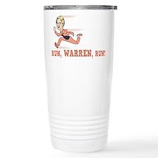 Run, Warren, Run! Travel Mug