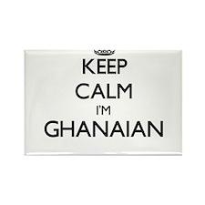 Keep Calm I'm Ghanaian Magnets