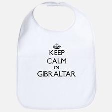 Keep Calm I'm Gibraltar Bib